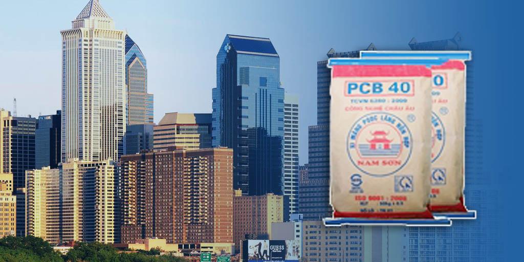 Xi Măng Pooclang Hỗn Hợp PCB 40